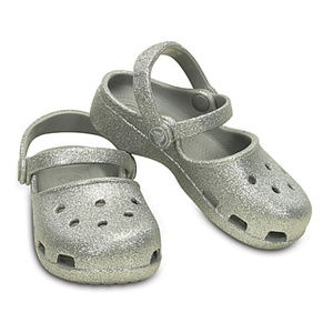 Crocs Kids' Karin Sparkle Clog baby size4